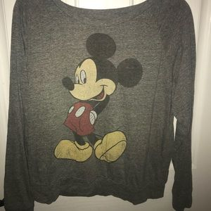 Mickey Mouse retro long sleeve top